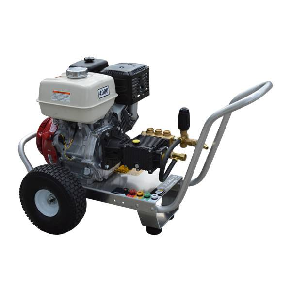 GX390 HONDA ENGINE 4 GPM 4000 PSI GENERAL PUMP ALUMINUM FRAME COMMERCIAL  PRESSURE WASHER
