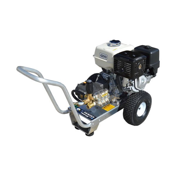 GX390 HONDA 4 GPM 4200 PSI COMMERCIAL PRESSURE WASHER HEAVY DUTY AR VIPER  PUMP AIRCRAFT ALUMINUM FRAME