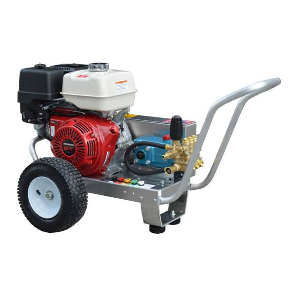 GX390 HONDA 4 GPM 4000 PSI RELIABLE CAT BELT DRIVE COMMERCIAL PRESSURE  WASHER ALUMINUM FRAME