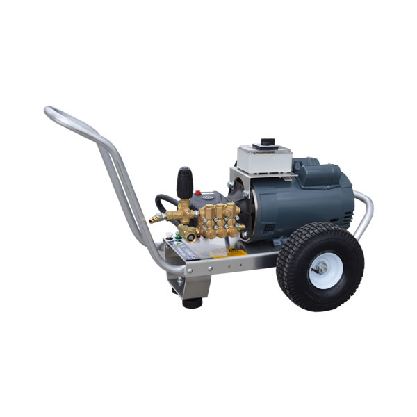 6HP MARATHON ELECTRIC MOTOR AR PUMP COMMERCIAL PRESSURE WASHER PORTABLE  ALUMINUM FRAME